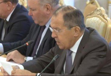 Выступление Министра иностранных дел России С.В.Лаврова на заседании Совета глав субъектов Российской Федерации