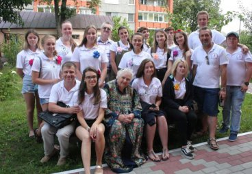 В Русском доме принимали волонтеров «Лиги молодежи»