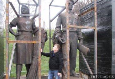 «Лига молодёжи Псковской области» приценилась к литовским памятникам советской эпохи
