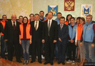 В Пскове подвели итоги конкурса по отбору волонтеров для участия в молодежном лагере в Литве