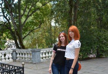 Яркая латвийская молодеж!