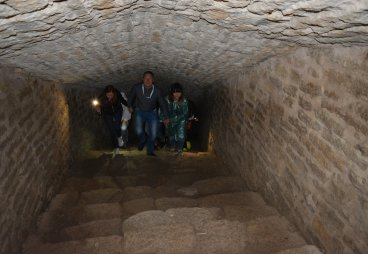 Обследуем Изборскую крепость
