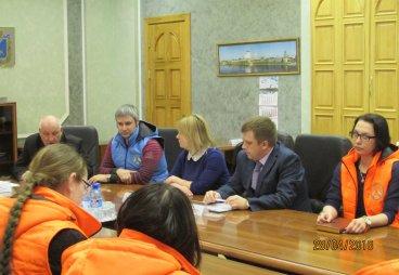 Встреча волонтера в проекте: На волнах исторической памяти